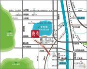 冠城大通珑湾交通图
