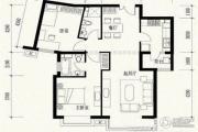 玉泉新城2室2厅2卫104平方米户型图