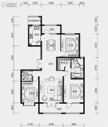 融创裕华壹号3室2厅2卫147平方米户型图