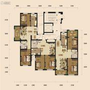 中铁丁香水岸2室2厅1卫72平方米户型图