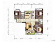 随州东方御景3室2厅2卫117--123平方米户型图