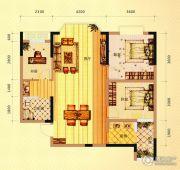 未来城11号3室3厅1卫103平方米户型图