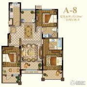 恒辉假日广场3室2厅2卫120平方米户型图