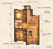 中海寰宇天下2室2厅1卫0平方米户型图
