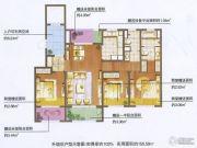 朗诗绿色街区3室2厅2卫122平方米户型图