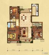 阅海壹号院3室2厅2卫0平方米户型图