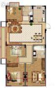 玲珑悦居4室2厅2卫0平方米户型图