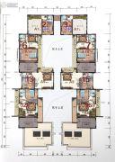 大理公馆2室1厅0卫71--80平方米户型图
