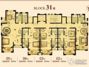 颐景御园1室1厅1卫47平方米户型图