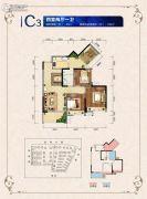 邦泰・国际社区(北区)4室2厅1卫85平方米户型图