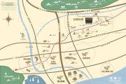 新城湾上风华交通图