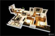 雅居乐林语城4室2厅2卫136平方米户型图