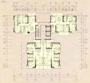 榕江四季城4室2厅2卫119--142平方米户型图