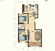 清水湾・幸福枫景3室2厅1卫0平方米户型图