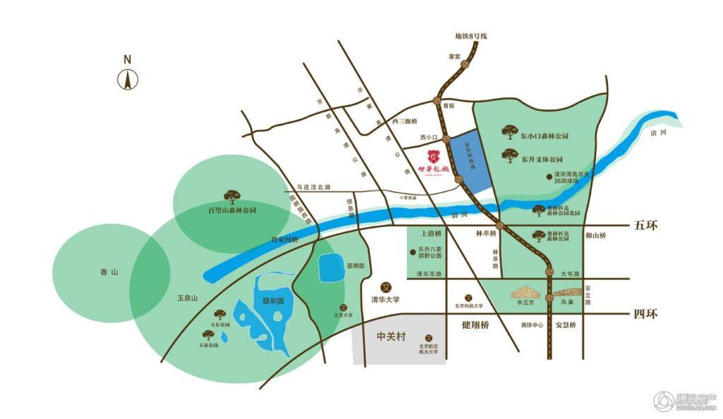 北京低密楼盘优选 海淀190-320平四居产品即将入市
