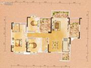天水豪廷3室2厅2卫142平方米户型图