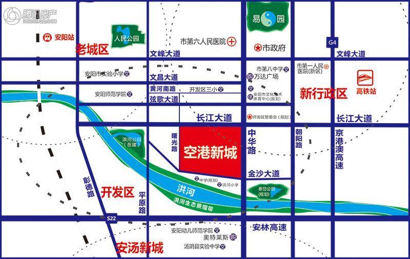 空港新城区位图