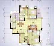 丰怡豪庭4室2厅2卫167平方米户型图