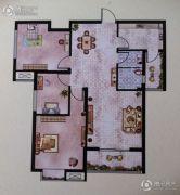 大地丽都3室2厅1卫105--109平方米户型图