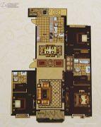 城关万达广场3室2厅4卫230平方米户型图