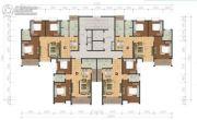 阳光福园3室2厅2卫117--118平方米户型图