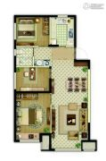 万科新都会3室2厅1卫92平方米户型图