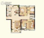 阳光城丽景湾3室2厅2卫130平方米户型图
