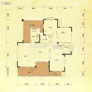东方威尼斯澜庭3室2厅2卫131平方米户型图