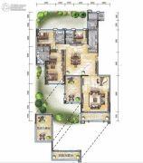 经典天成云墅3室2厅3卫0平方米户型图