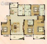 大郑东悦湖会4室2厅3卫196平方米户型图