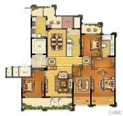 青林湾8期4室2厅2卫166平方米户型图