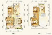 万达西双版纳国际度假区4室3厅2卫176平方米户型图