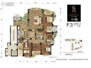 百川・润城4室2厅4卫0平方米户型图