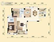 东湖国际城3室2厅2卫112平方米户型图