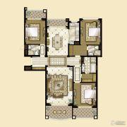 雅居乐・星河湾3室2厅3卫217平方米户型图