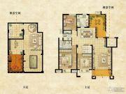 达安上品花园3室3厅2卫215平方米户型图