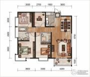 昆明广场3室3厅2卫0平方米户型图