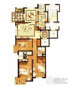 华府樟园3室2厅2卫0平方米户型图