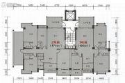 海悦名庭4室2厅3卫174平方米户型图