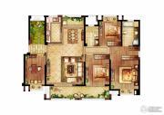保利・香槟国际4室2厅2卫163平方米户型图