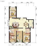山海城邦・马街摩尔城4室2厅2卫156--160平方米户型图