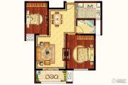 润和・滟澜湾 多层2室2厅1卫90平方米户型图