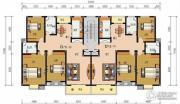 申鑫名城3室2厅2卫131平方米户型图
