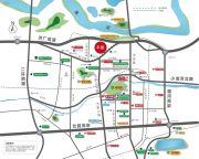 万科金色悦城交通图