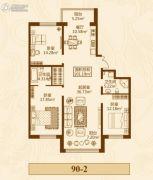 群力家园3室2厅2卫0平方米户型图