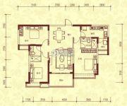 恒大名都3室2厅2卫142平方米户型图