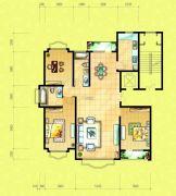 四季花城3室2厅2卫0平方米户型图