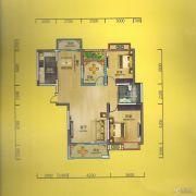 华侨城2室2厅1卫109平方米户型图