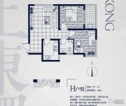 永邦天汇2室1厅1卫69平方米户型图