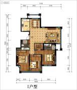 丁香花园玉泉苑3室2厅2卫156平方米户型图